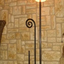 lámpara-de-hierro-forjado